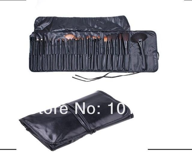 32Pcs Full Set Studio Goat Hair Makeup Brush, makeup brush set, free shipping by china post