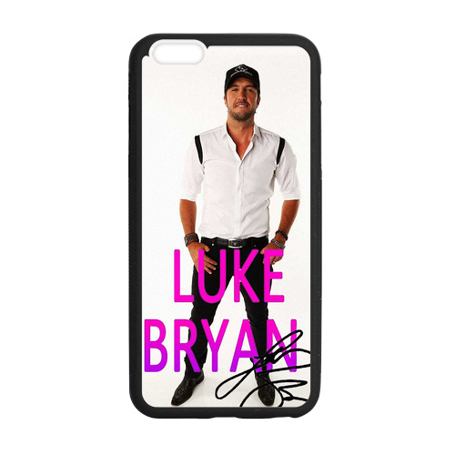 Discount Phone Cases Luke Bryan Real Signature Case for iPhone 6 Plus(China (Mainland))