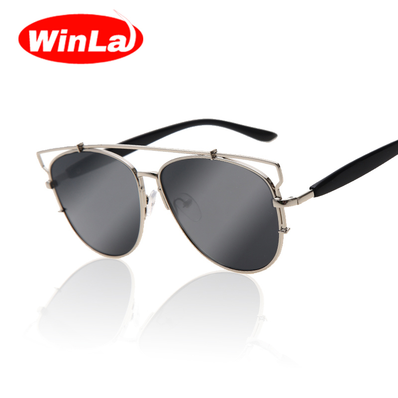 Metal frame D Fashion Sunglasses Women Brand Designer Vintage Original Brand Sunglasses Men Classic glasses Oculos de sol Shades(China (Mainland))