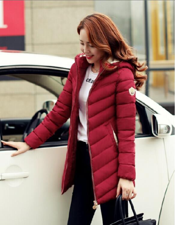down parka women 2015 new fashion winter jacket women wadded jacket long female down cotton coats plus size outerwear M-XXXL