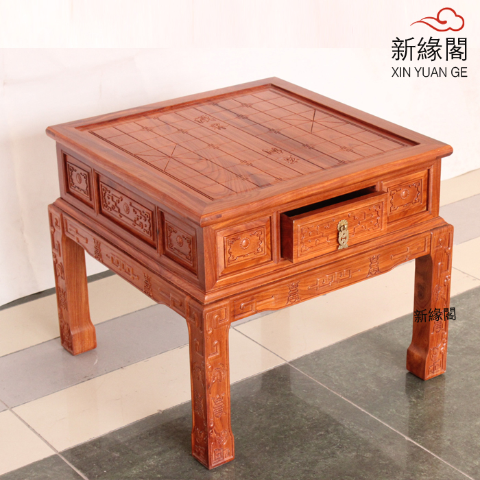 Rosewood chess tables chess tables Go board with three high-grade rosewood coffee table tea table tea tray chessboard home(China (Mainland))