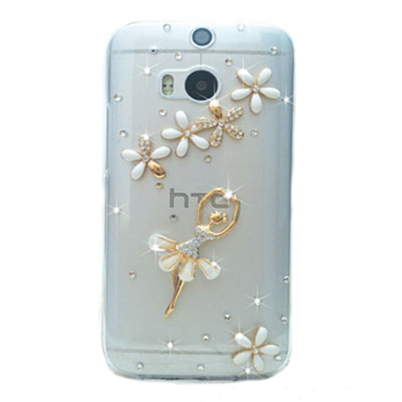 new arrival bling diamond rhinestone protective shell mobile phone case cover for htc windows Phone 8X for htc 8x(China (Mainland))