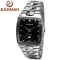 EASMAN Mens Luxury Tungsten Steel Watch Sapphire Glass Watches Japan Quartz Date Calendar Best Gift Watch