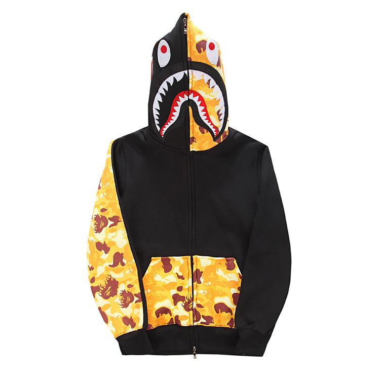 Bape Shark Hoodie Camo Sleeve Hospitality Furniture