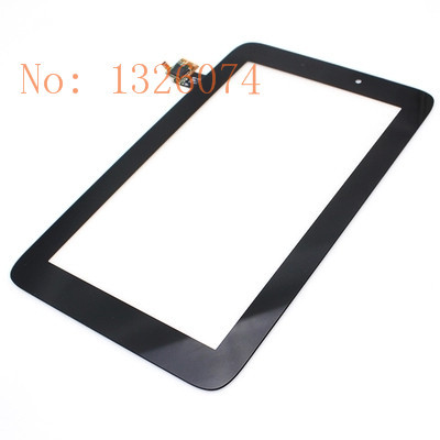 10Pcs/lot Touch Screen Digitizer For Lenovo IdeaTab A2107 A2207 Top Outer Glass Lens Panel Replacement black Free shipping 15072(China (Mainland))