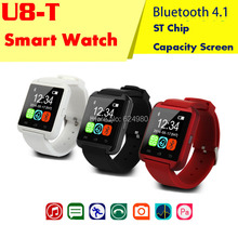 New Bluetooth4.1 ST chip Smart WristWatch U8T Watches for iPhone 4/4S/5/5S/6 Samsung S4/Note 2/3 LG Android Phone smartphones