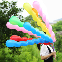 Buy 50pcs Screw Twisted Latex Balloon Spiral Thickening Long Balloon Bar KTV Party Supplies Strip Shape Balloon Inflatable Toys for $4.94 in AliExpress store
