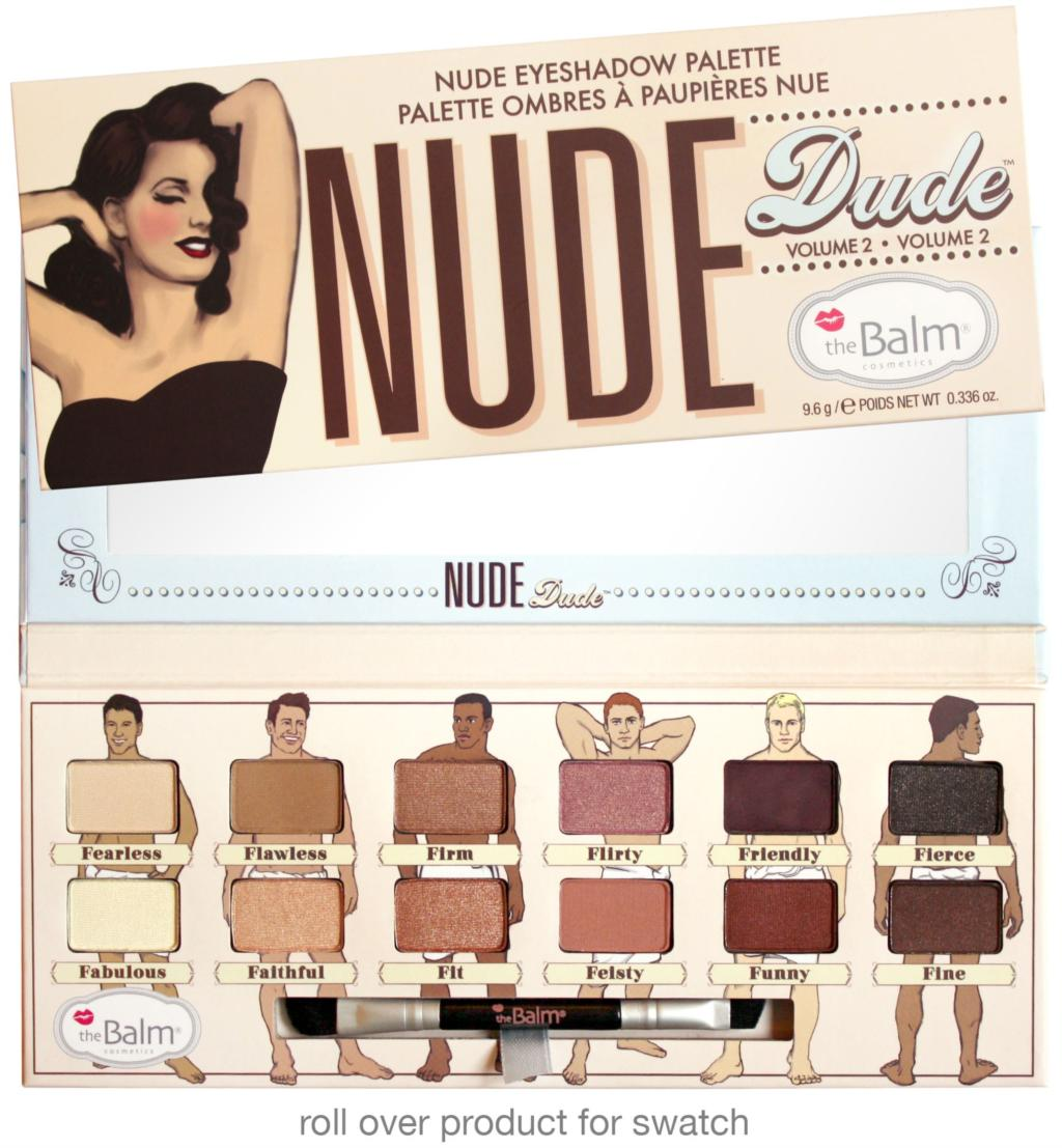 2015 newest Nude Dude Nude Eyeshadow Palette 12 full-bodied shadows NUDE TUDE Naughty the balm<br><br>Aliexpress