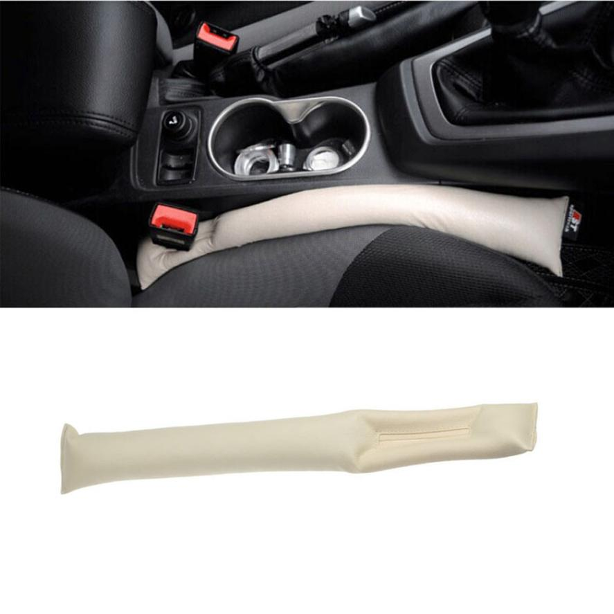New Arrival 2PC Faux Leather Car Seat Pad Gap Fillers Holster Spacer Filler Padding(China (Mainland))