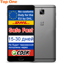 "New Original Oneplus 3 three Mobile Phone 4GB RAM 64GB ROM Snapdragon820 Quad Core 5.5"" FHD Android 6.0 4G FDD LTE Dual SIM 16MP(China (Mainland))"