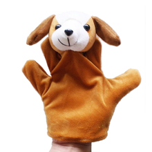 1 Pc Kids Toy Farm Animal Hand Glove Puppet Finger Sack Hand Dolls Plush for Baby Child #9869(China (Mainland))