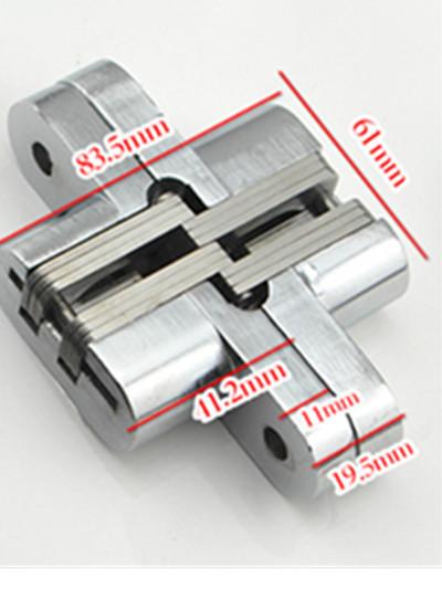 Folding door hinge hinge cross concealed door hinge length 94MM width 63mm(China (Mainland))