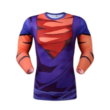 Buy High Anime Dragon Ball Z Vegeta Super Saiyan Goku Piccolo 3D Print Long Sleeve T Shirt Men for $7.62 in AliExpress store