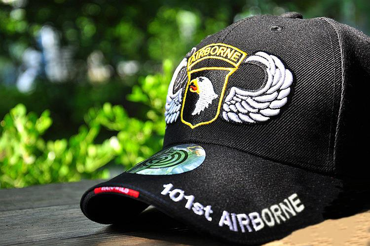 Tactical Caps U.S. 101st Airborne Division commemorative military fans soldier cap Baseball Caps Combat Army Sun Visors(China (Mainland))