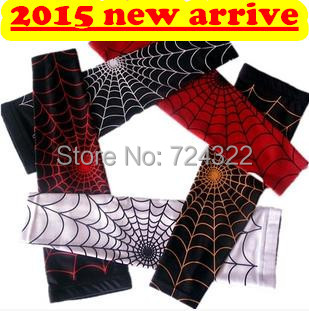 Spider tattoo Basketball armband knee sleeves arm protection bracer wrist wraps support band patella Elbow pads sleeve Free Ship(China (Mainland))