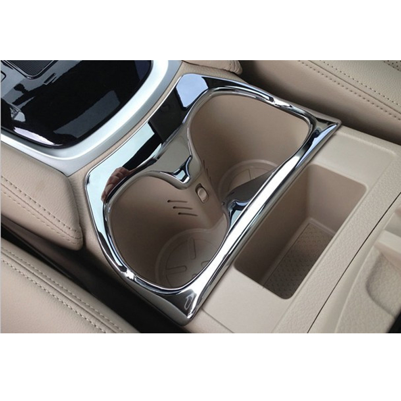 buy car interior accessories cup shelf decoration trim cover abs chrome. Black Bedroom Furniture Sets. Home Design Ideas