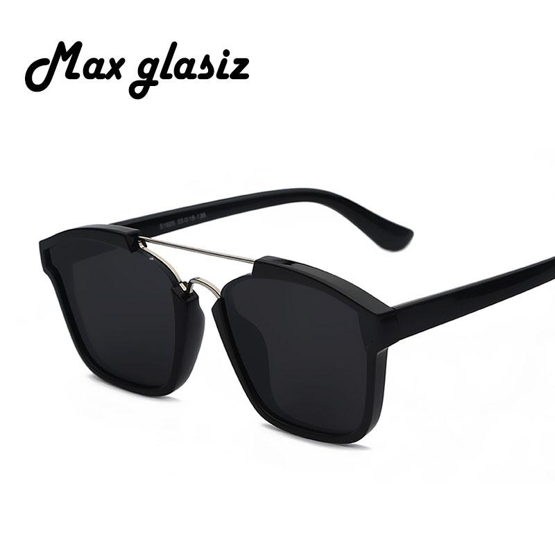 2016 Decorative reflective mirror metal Square retro new red brand unisex sunglasses glasses for women and men gafas(China (Mainland))