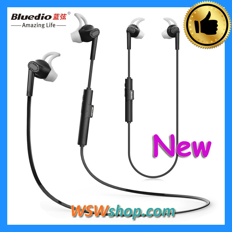 Latest Bluedio M3 Wireless Bluetooth Inear Headphones Newest Bluedio Earphones 100% Brand New Original Headset Black Color(China (Mainland))