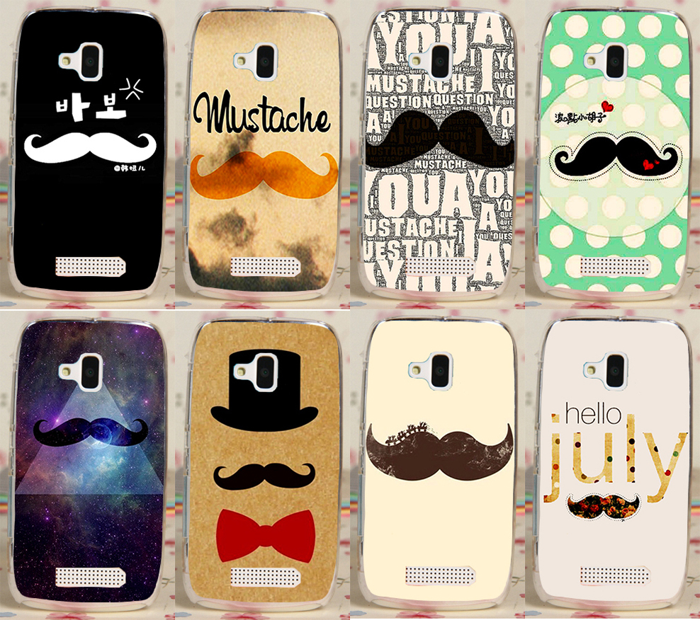 Moustache Life is a Joke PC Plastic Hood Phone Case Cover For Nokia Lumia 610 N610 Phone Cases Covers Shell(China (Mainland))