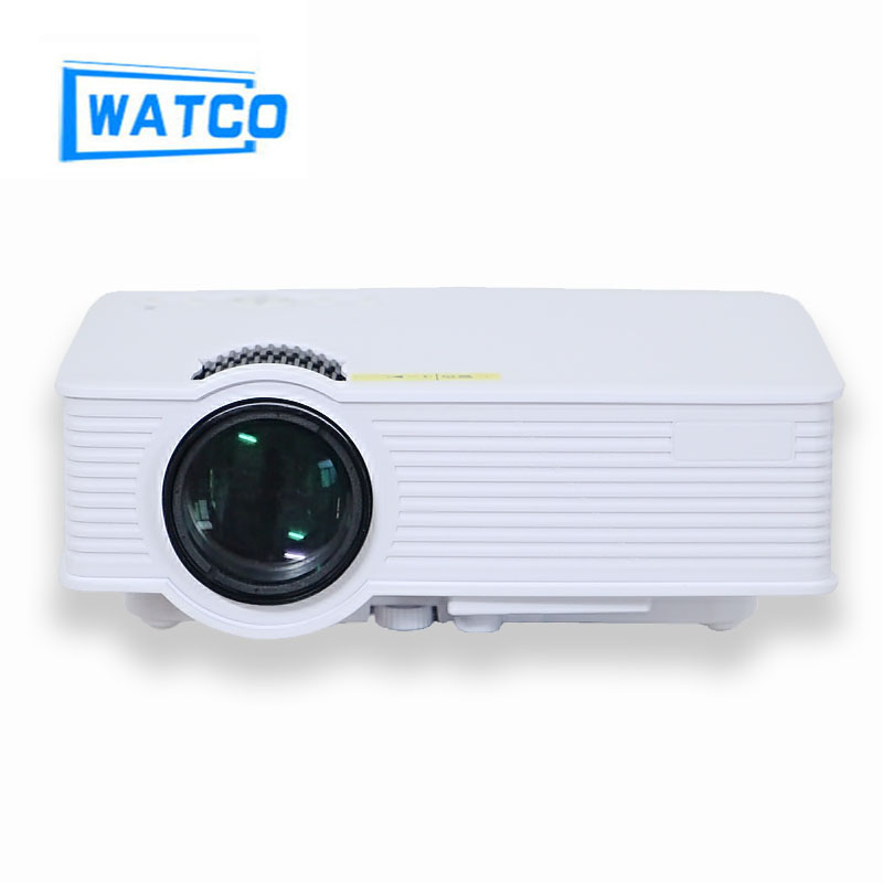 Hd 1080p led multimedia mini projector home theater cinema for Small video projectors reviews