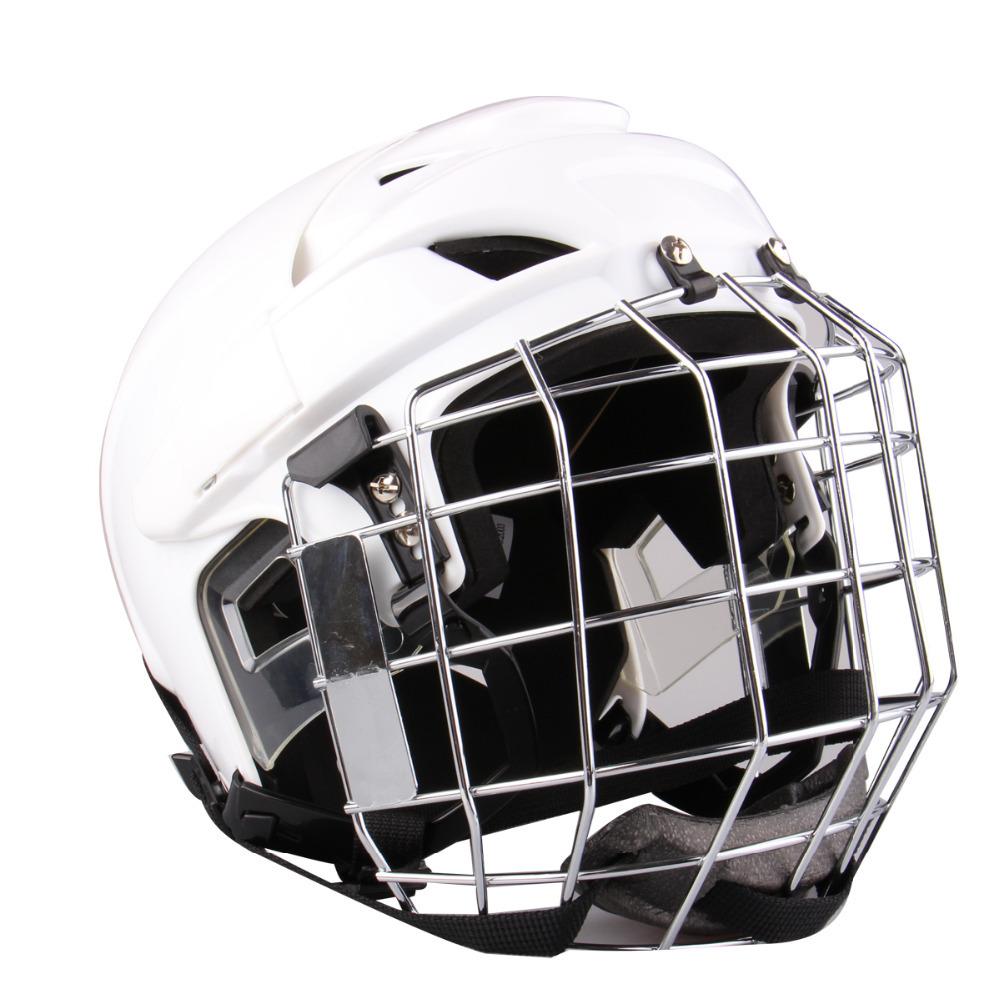 Free Shipping Ice Hockey Helmet Equipped Hockey Helmet T5-WH(China (Mainland))