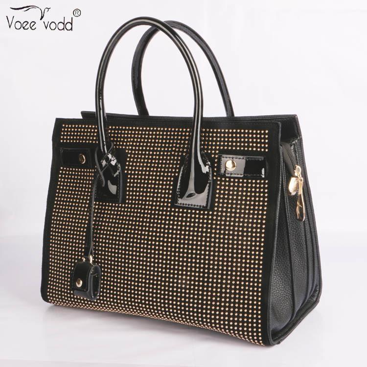 brand leather female bag rivets winter new fashion handbags leather bag handbag wholesale manufacturers temperament<br><br>Aliexpress