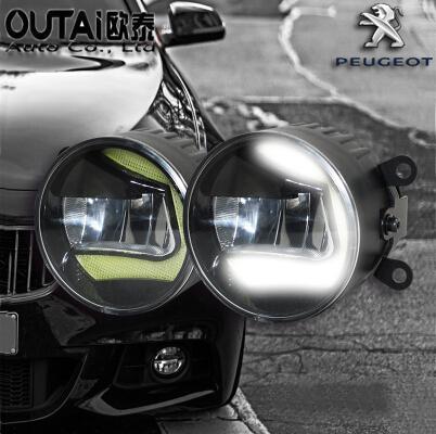 Фотография 4 inch 18W Front Bumper Convex Lens Led Fog Light For Peugeot 5008 LED Driving Lamp