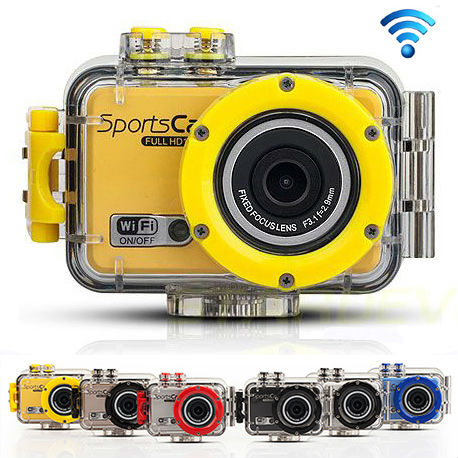 NEW,with wifi Sport Camera FULL HD 1080P Action camera with Waterproof  Sport Camera  F39 mini Camcorder free shipping