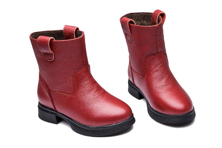 2015 autumn Winter Kids Children shoes Genuine leather Girls Princess single boots ankle boots martin boots causal shoes C-672<br><br>Aliexpress