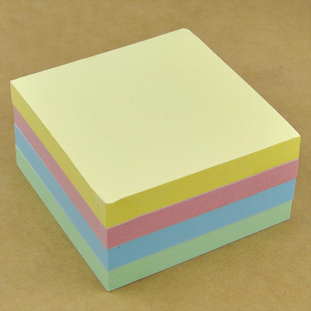 "Гаджет  2015 Highly Commend 400 pcs NEON Remove Sticky Post It Notes 76mm x 76mm 3"" x 3"" Free P&P None Изготовление под заказ"