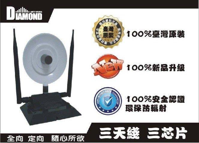 50pcs/lot Black Diamond USB wifi adapter 360000N Ralink 3070 WEP WPA 3800mW 36dBi 150Mbps 3 High Gain Antenna booster(China (Mainland))