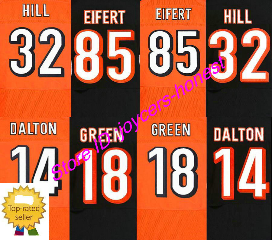 Гаджет  #85 Tyler Eifert jersey authentic 32 jeremy hill cheap 18 AJ Green 14 Andy Dalton elite stitched embroidery jersey None Спорт и развлечения