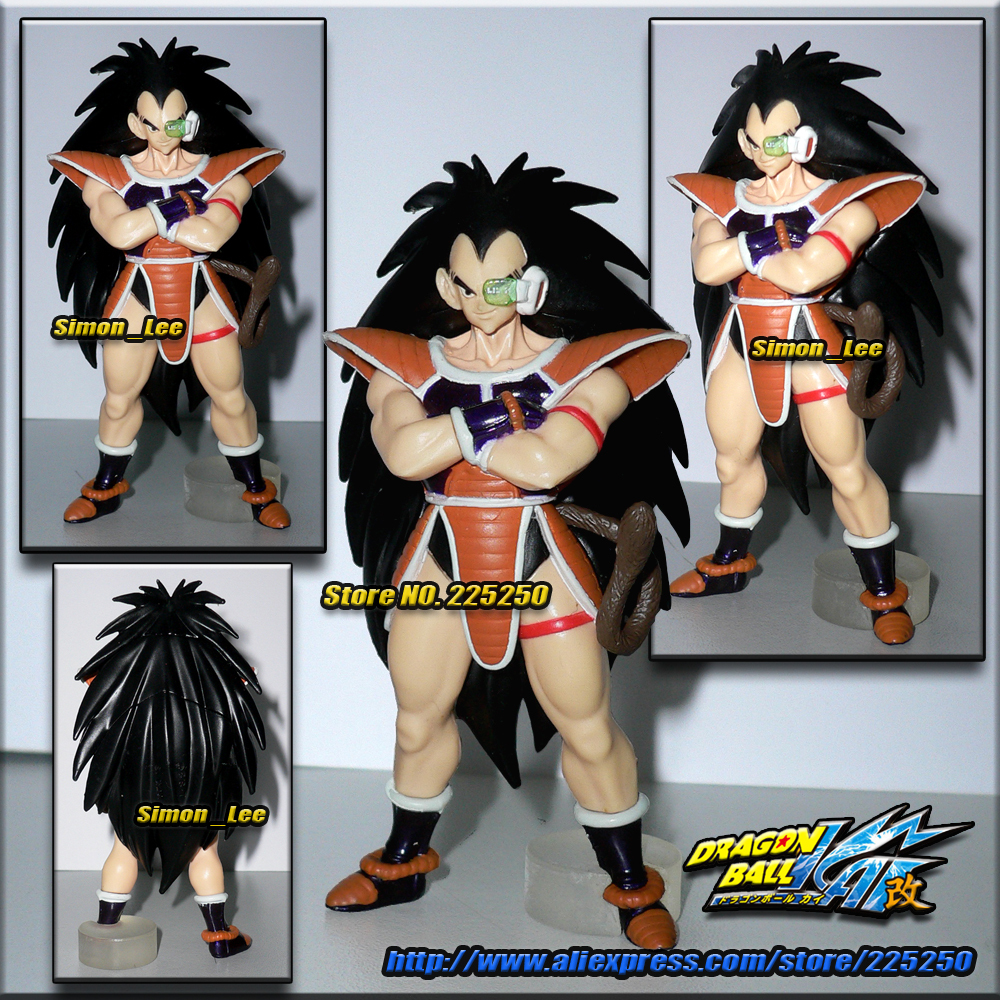 Japanese Anime DRAGONBALL Dragon Ball Z/Kai Genuine Original BANDAI Gashapon PVC Toys Action Figures HG Special Part 2 Raditz - DRAGON BALL Store store