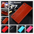 Azns Huawei P7 Luxury Wallet Phone case for Huawei Ascend P7 case Flip leather cover stand