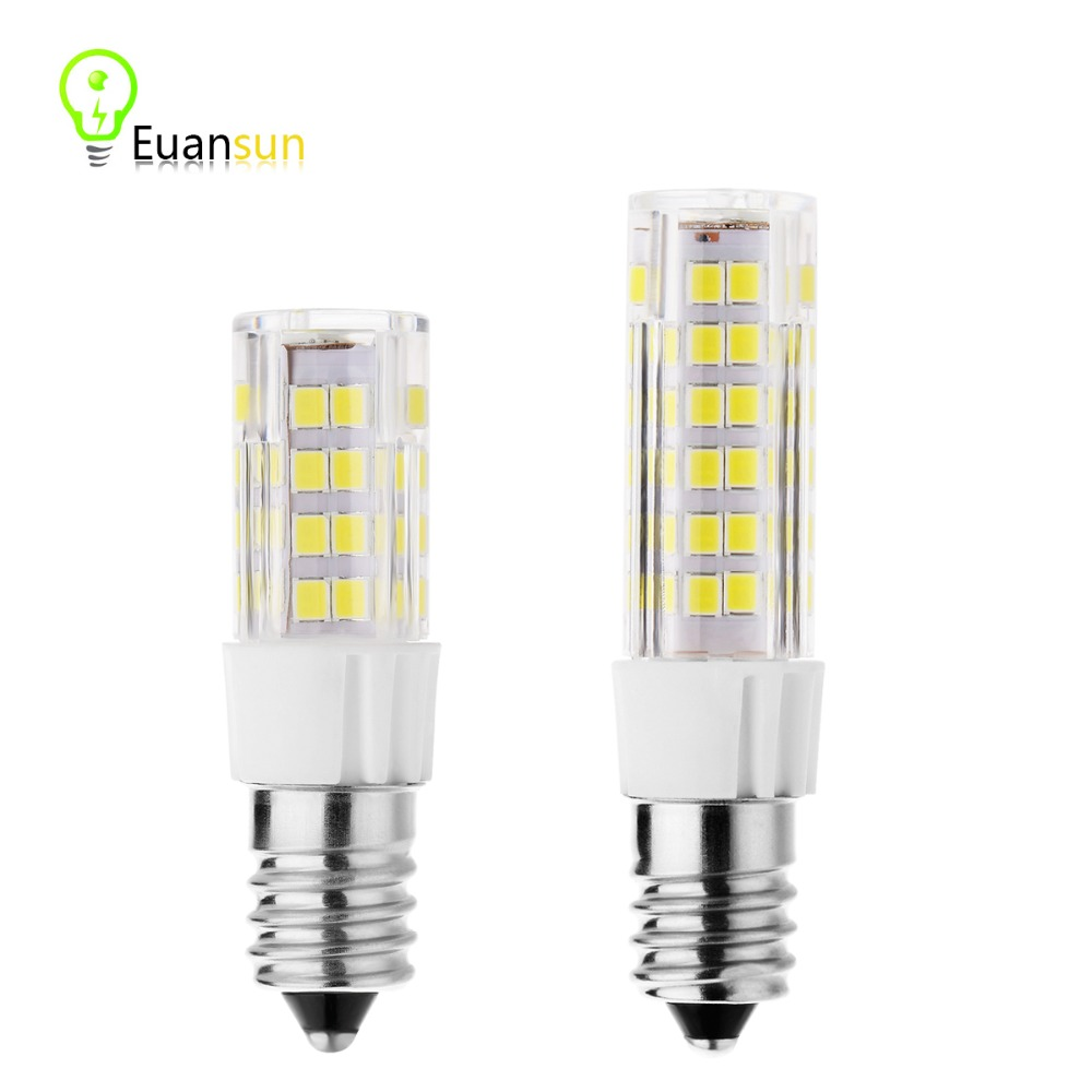 E14 LED Lamp bulb 220V 5W 9W Cold Warm White Quality Assurance LED Lamp Fashion Corn Light Bulb for Crystal Lamp(China (Mainland))