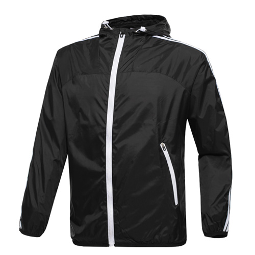 Spring Autumn Men's brand hooded sportswear jacket,windbreaker waterproof outerwear men jacket, Zipper Thin sport coats(China (Mainland))