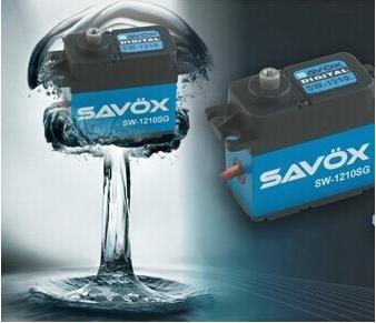 Savox Waterproof Coreless Steel Gear Digital Servo Car Crawler Drift SW-1210SG 1210SG free shipping(China (Mainland))
