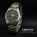 Luxury Brand CHENXI Full Stainless Steel Men Quartz Dress Wrist watches Waterproof Retro Male Business Watches