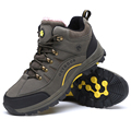2016 fashion new mens outdoor snow boots winter fur brand anti skid mountain boot breathable outdoor