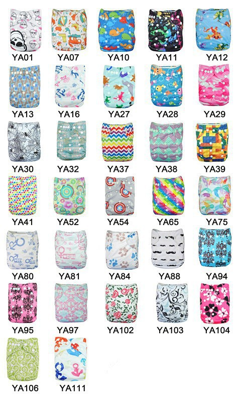 50pcs us brand baby swim diaper Double Row Snap baby washable diaper with Insert nappy changing whole sale price(China (Mainland))