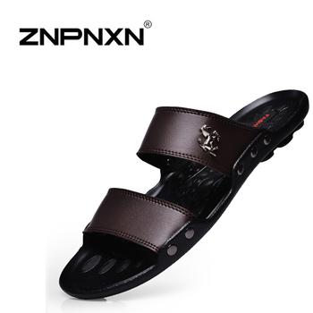 Новая летняя обувь мужчины квартиры сандалии, горячая Sandalias хомбре пляж вьетнамки, ...
