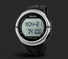 2015 New Outdoor LED Sports Watches Pedometer Heart Rate Monitor Calories Digital Watch Sport Fitness for