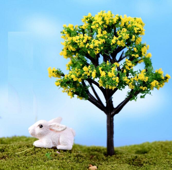 artesanato mini jardim : artesanato mini jardim:Fd2180-mini-Dollouse-jardim-fada-artesanato-decoração-árvore-Bonsai