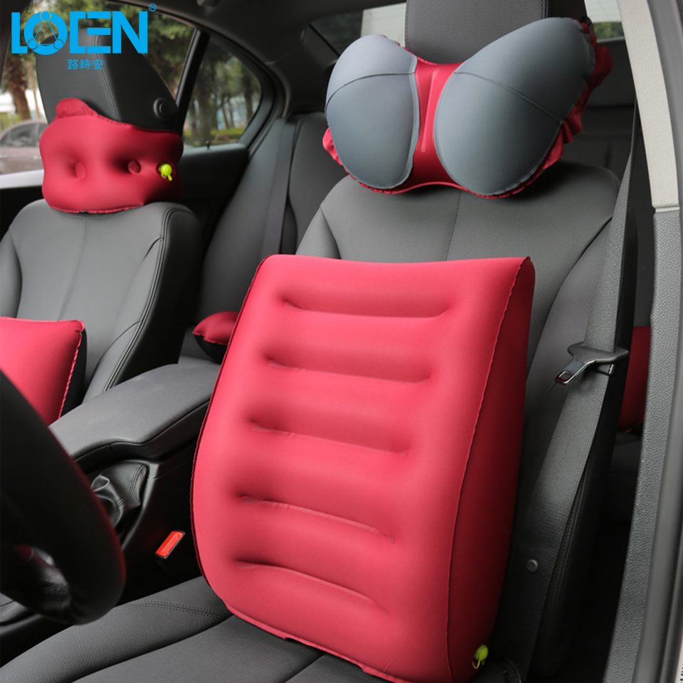 popular inflatable lumbar support car buy cheap inflatable lumbar support car lots from china. Black Bedroom Furniture Sets. Home Design Ideas