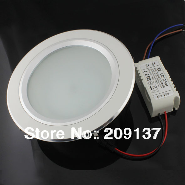 Hot sell!4pcs/lot 12W recessed led downlight,AC85-265V,CE&ROHS,LED Ceiling down light Cold white/Warm white(China (Mainland))