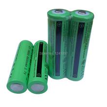 Новый 4×18650 аккумуляторы 3,7 8800 мАч литий литий-ионный аккумулятор для светодиодный фонарик батареи Бесплатная доставка оптовых