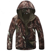 High Quality Lurker Shark Skin Soft Shell Tad V 4.0 Outdoor Military Tactical Jacket Waterproof Windproof 3d Tree Camouflage