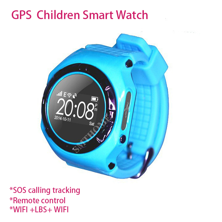 2015 New L20 High Quality Fashion GPS LBS WIFI Children Smart watch for iphone and android Control SOS Calling Kids Wrist Watch<br><br>Aliexpress