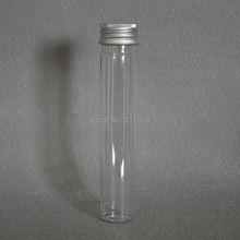 65ml transparent mask bath salt test PET tube with aluminum cap 65cc clear plastic cosmetic tube(China (Mainland))
