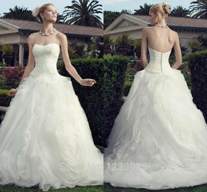 Casablanca Wedding Dress 2015 Hot Sale Sweetheart Off